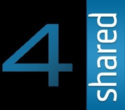 4shared Logo Font