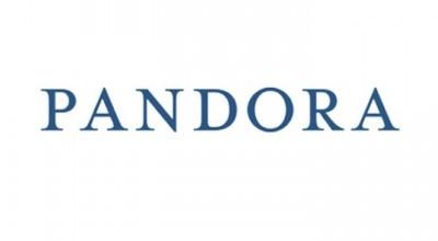 Pandora Logo Font