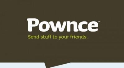 Pownce Logo Font