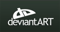 deviantART before 2010 logo