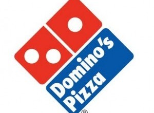 Domino's Pizza before 2012 Logo Font