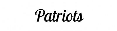 Fonts Logo » New England Patriots Logo Font