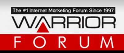 The Warrior Forum Logo Font