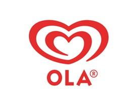 Ola Ice Cream logo