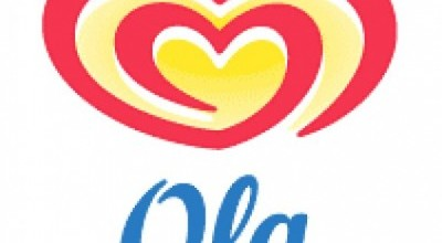 Ola Ice Cream before 2003 Logo Font