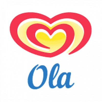 Ola Ice Cream before 2003 logo