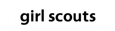fonts logo girl scouts logo font