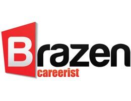 Brazen Careerist Logo Font