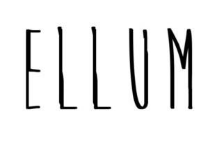 Ellum Audio Logo Font