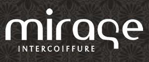 Mirage Intercoiffure Logo Font