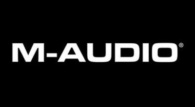M-AUDIO Logo Font