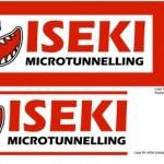 Iseki Logo Font