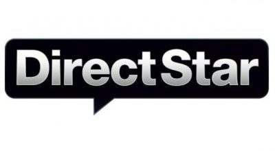Direct Star Logo Font