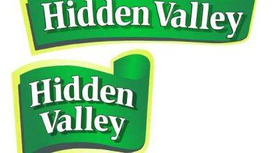 Hidden Valley Logo Font