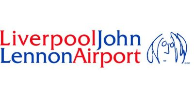 Liverpool John Lennon Airport Logo Font