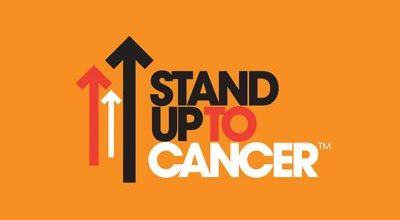 Stand Up to Cancer Logo Font