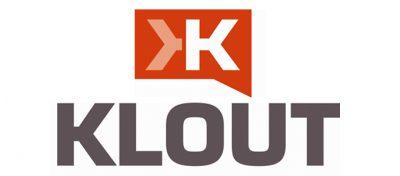 Klout Logo Font