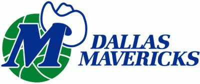 Dallas Mavericks (1980) Logo Font