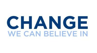 Change We Can Believe In Logo Font
