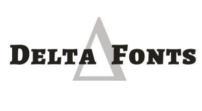 Delta Fonts Logo Font