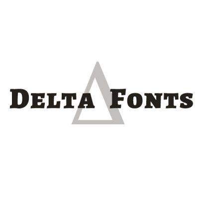 Delta Fonts logo